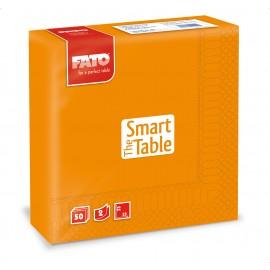 Servetele 33x33 cm 2 straturi, Smart Table, portocalii - Fato