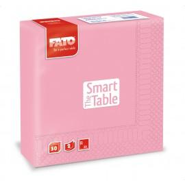Servetele 33x33 cm 2 straturi, Smart Table, roz - Fato