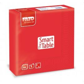 Servetele 33x33 cm 2 straturi, Smart Table, rosii - Fato