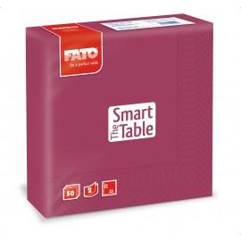 Servetele 33x33 cm 2 straturi, Smart Table, bordo - Fato
