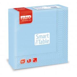 Servetele 33x33 cm 2 straturi, Smart Table, albastru deschis - Fato