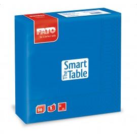 Servetele 33x33 cm 2 straturi, Smart Table, albastru gentian - Fato