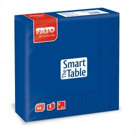 Servetele 33x33 cm 2 straturi, Smart Table, albastru inchis - Fato