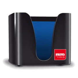 Dispenser servetele de masa 25x25 cm, negru - Fato