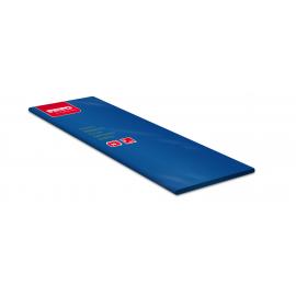Traversa de masa din airlaid, 100x100 cm, Tablewear, albastru inchis  - Fato