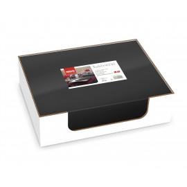 Placemat din airlaid 30x40 cm, Tablewear negru - Fato