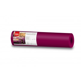 Traversa de masa din airlaid, 0.40x24 m, Tablewear, bordo - Fato