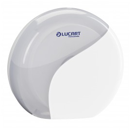 Dispenser hartie igienica rola mini jumbo, alb - Lucart Identity