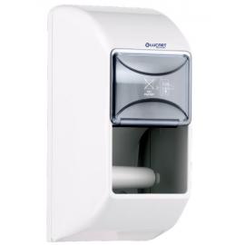 Dispenser hartie igienica rola standard, alb - Lucart Twin vertical