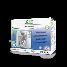 Activ Tabs - Detergent tablete ecologic, hipoalergen, 56 tablete/cutie