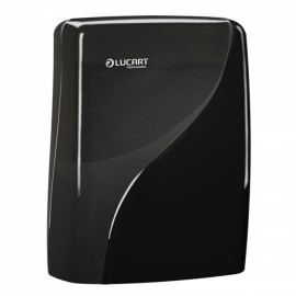 Dispenser Lucart Identity Fold Towel Black