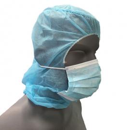 Capelina tip astronaut cu masca, albastra