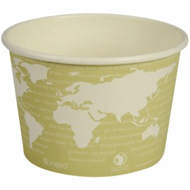 Bol supa biodegradabil World Art, 7.72cm, Ø11.45cm - Abena