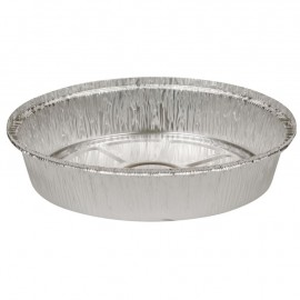 Caserola ovala din aluminiu 4cm, Ø23cm, 1300 ml - Abena