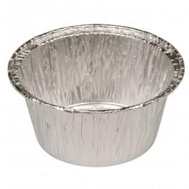 Caserola rotunda din aluminiu 3.7cm, Ø8cm, 115 ml - Abena
