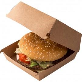 Caserola biodegradabila pentru burger DoEco 14 x 14 x 7 cm - Abena