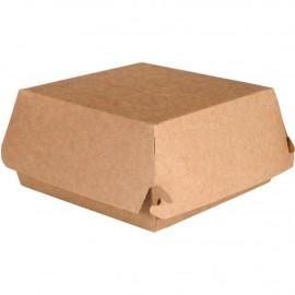 Caserola biodegradabila pentru burger DoEco 11.5 x 11.5 x 6 cm - Abena