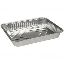 Caserola rectangulara din aluminiu, 1 compartiment, 22.7 x 17.8 x 3, 930 ml - Abena