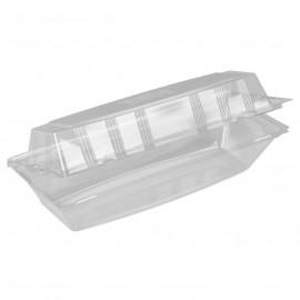 Casoleta rectangulara pentru sandwich RPET 26 x 10 x 7.5cm - Abena