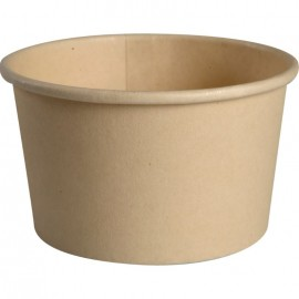 Cupa biodegradabila pentru inghetata-desert 4.6cm, Ø7.9cm, 140 ml - Abena