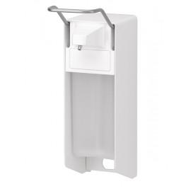 Dispenser sapun lichid / dezinfectant Ingo-Man cu levier, 500 ml, aluminiu - OpHardt