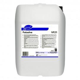 Fatsolve - Detergent degresant spumant alcalin, 20L - Diversey