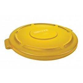 Capac container Brute 75.7 L, galben