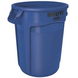 Container Brute cu canale de ventilare 121.1 L, albastru - Rubbermaid