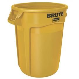 Container Brute cu canale de ventilare 121.1 L, galben - Rubbermaid