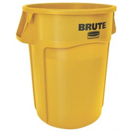 Container Brute cu canale de ventilare 166.5 L, galben