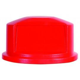 Capac (cupola) container Brute 166.5 L, rosu - Rubbermaid