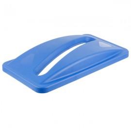 Capac deseuri hartie pentru containere Slim Jim 60 L/87 L, albastru - Rubbermaid