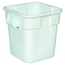 Container Brute patrat 106 L, alb