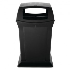 Container Ranger cu 4 trape acces 170.3 L, negru - Rubbermaid