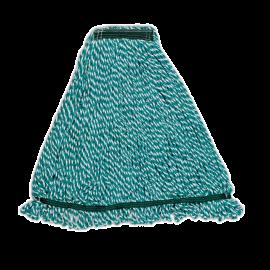Mop Web Foot microfibra, verde