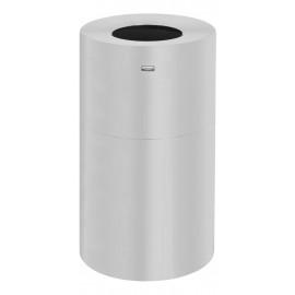 Cos gunoi ATRIUM 132.5 L, aluminiu