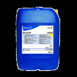 DivoCIP - Detergent alcalin clorinat cu spumare redusa, 20L
