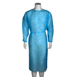 Halat vizitator din polipropilena, albastru, XL
