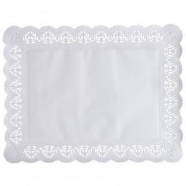 Hartie dantelata rectangulara pentru tort si prajituri - Abena
