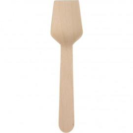 Lingura de unica folosinta pentru inghetata 9.5cm, biodegradabila - Abena