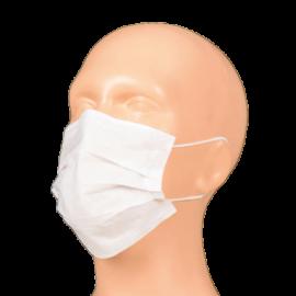 Masca faciala, 2 straturi, alba - Global Food