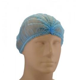 Capelina cu cusatura dubla, albastra - Santex