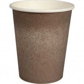 Pahare biodegradabile din carton pentru cafea Abena Gastro The Swan 9.1cm, Ø8cm, 24 cl 8 Oz - Abena