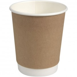 Pahare biodegradabile din carton pentru cafea Abena Gastro Nexterday 9cm, Ø8cm, 28 cl 8 Oz - Abena