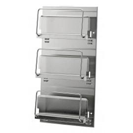 Dispenser pentru manusi de unica folosinta 3BV-2, inox - Ophardt