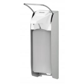 Dispenser sapun lichid / dezinfectant Ingo-Man cu levier si afisaj, 1000 ml, aluminiu- OpHardt
