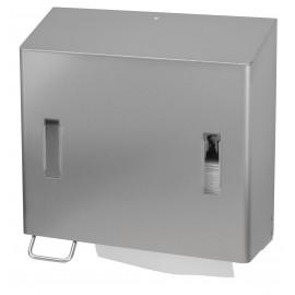 Dispenser prosoape de maini pliate / sapun lichid 1200 ml, SanTRAL CPU 2L E/S AFP, inox - OpHardt