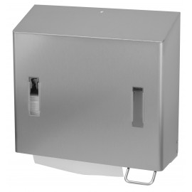 Dispenser prosoape de maini pliate / spuma 1200 ml, SanTRAL CPU 2R E/F AFP, inox - OpHardt