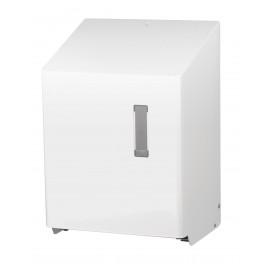 Dispenser SanTRAL HAU 1 P prosoape maini rola autocut, cu senzor, inox alb - OpHardt