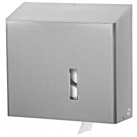 Dispenser hartie igienica rola standard SanTRAL MRU E AFP, inox - OpHardt